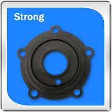 Low permanent compression deformation rate rubber products