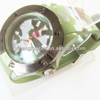2012 trendy silicone brand mens watches