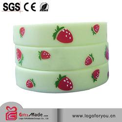 trade assurance 2015 cheap custom silicone bracelet manufacturer