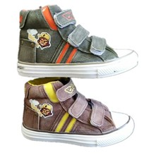 Buckle strap boy new model canvas shoes