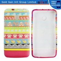 Colorful Water Printing Case for Huawei Ascend Y330 TPU Case