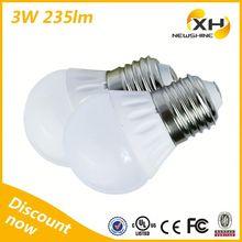 Hot Sale Factory Price High Quality Ceramic E27 Base 3W Led Bulb Light / Led Parts Bulb