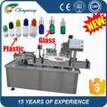 Alta velocidad automáticas 100 ml botellas liquid filling machine ( shanghai fabricación )