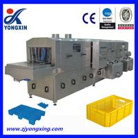 automatic plastic crates washing machine,fruit basket washing machine