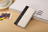 Black Flip case for iphone, folio case for iphone, wallet case for iphone