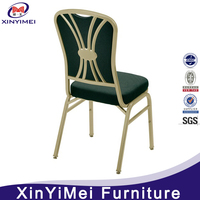 New design hotel furniture stackable banquet chair for sale used