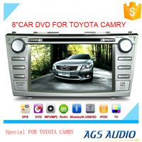 gps touch screen car dvd vcd cd mp3 mp4 player for TOYOTA CAMRY