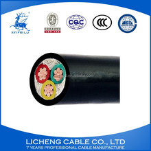 Alibaba supplier 3 cores XLPE insulation power cable with CCC certificate 2.5mm2