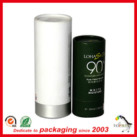 decorative cardboard gift tube paper cylinder shape packing box