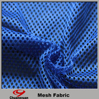 new top selling products 100% polyester mesh fabric for clothing/hat/hometextile/camp/toy