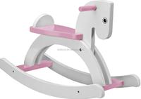 2015 Best seller wooden rocking chair toy,wooden rocking chair toy in stock,Cute design white wooden rocking chair W16D020