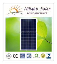 High Quality And High Efficiency Import Solar Panels 250 Watt with TUV IEC CE CEC ISO INMETRO certificates