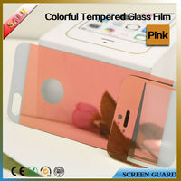 Mobile Phone Accessories Colorful Tempered Glass Screen Protector Membrane for Apple Iphone5