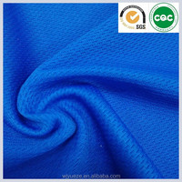 breathable polyester sports basketball jersey fabric