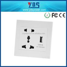 Alibaba express Usb Power Point Australian/New Zealand usb wall socket 2 gang 3 pin outlet AU Power