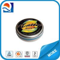 Dongguan custom lip balm tin can/lip balm tin container/lip balm box/metal cosmetic packing