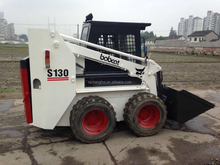 Used steering loader Bobcat S130 with good quality and cheaper prices