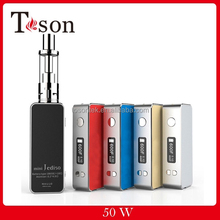 Magnet cover replaceable 18650 battery / USB charging Mini 50w temp control box mod