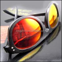 2015 hot selling recycled bamboo wood sunglasses black bamboo