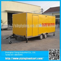 YY-FS480 wholesale multi-function mobile pizza catering food vending van for sale