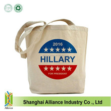 Custom Fashionable Cotton Canvas Cool Shopping Tote Bag