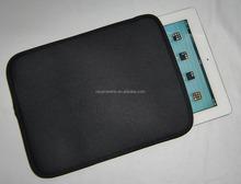 Black style Neoprene Waterproof tablet sleeve bag laptop case