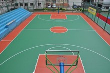 Hot sale basketball court PU sports flooring