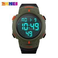 waterproof outdoor Army Green mens military clock mens sport reloj China wholesales watches