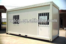 prefab eco-type steel frame container homes/container house