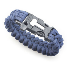 p outdoor suwhistle clasrvival 550 paracord bracelet with flint fire starter