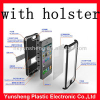 shock proof protection phone case covers DUAL LAYER HOLSTER for iphone 5
