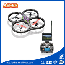 V666 3D ROLL 5.8G FPV 4CH 6 Axis Gyro UPO CAMERA LIVE Transmission RC Quadcopter WITH LIGHTS quadcopter transmitter