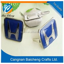 New style metal craft with U foot back types as the suit decoration for clothing and handbags and brand signals and logo for you