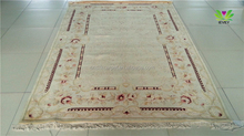 Handmade carved customized traditional chinese style karachi wool carpets rugs