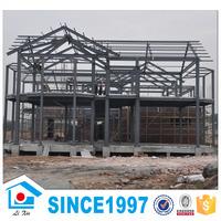 Low Cost Materials Cheap Prefab Light Steel Villa House