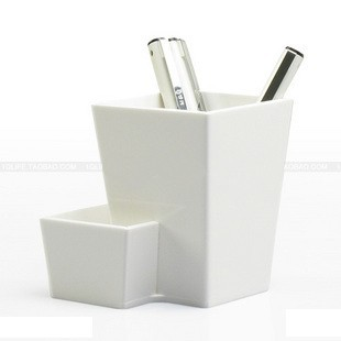 White Acrylic Pencil Holder Plexiglass Pencil Holder Display Stand Buy Desk
