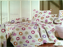 high quality guarantee grey flannel european size duvet covers 100% cotton bed sheets