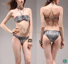 2015 Hawaii swimwear fabric sexy young girls transparent bikini swimwear cover ups for women