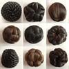 for black women fake hair bun