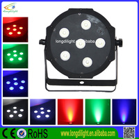 Battery Operated Mini Led Lights 6*10W 4in1 christmas lights project / battery wireless led