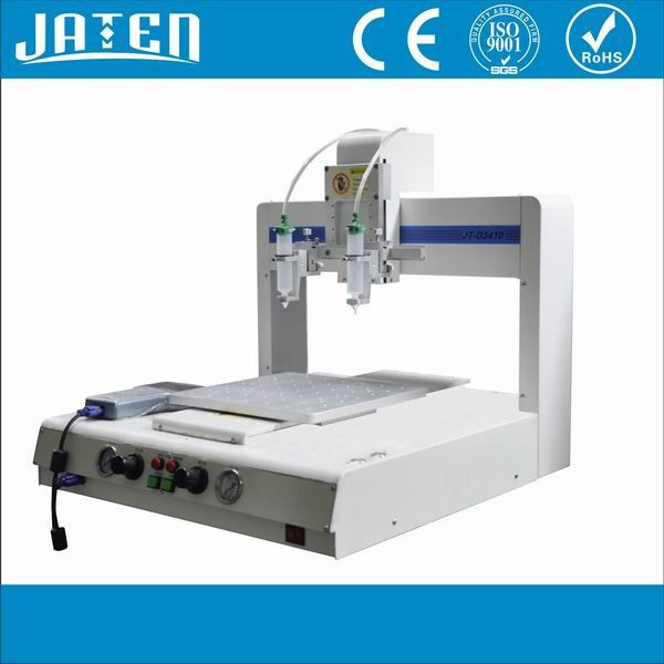 Automated Wood Glue Dispenser ~ Automatic hot glue dispenser for mobile phone frame