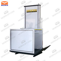 hydraulic small elevators for home with safety sensor
