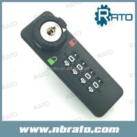 master key safety combination lock