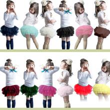 Nuevos niños del diseño del traje de la danza joven Girls Short Skirts