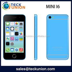 mini I6 4inch andriod 4.4 GSM+WCDMA GPS ultra slim android smart phone