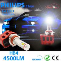 Qeedon hot sale auto led lamp g4 car light bulbs h7 h8 h9 h10 h11 h13 9004 headlight