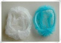Colorful nonwoven clip bouffant cap / mob caps/disposable hair net