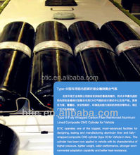 Type III Composite CNG Cylinder for Vehicle liquid tank cng cylinder for truck