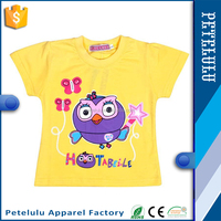 China customize garment manufacture Wholesale Fashion children cartoon printed t-shirt