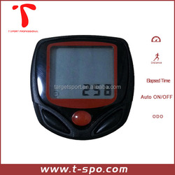 15 functions wired cycle computer/sports cable bicke computer speedometer for spining bike